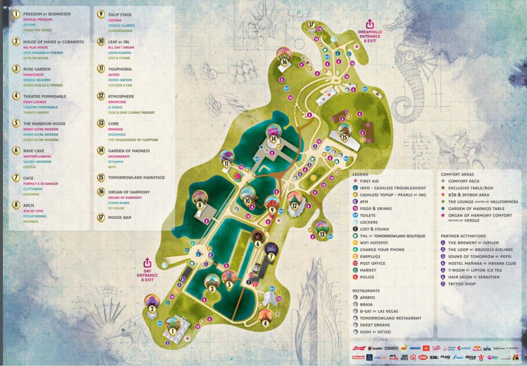 Tomorrowland Guide 2019