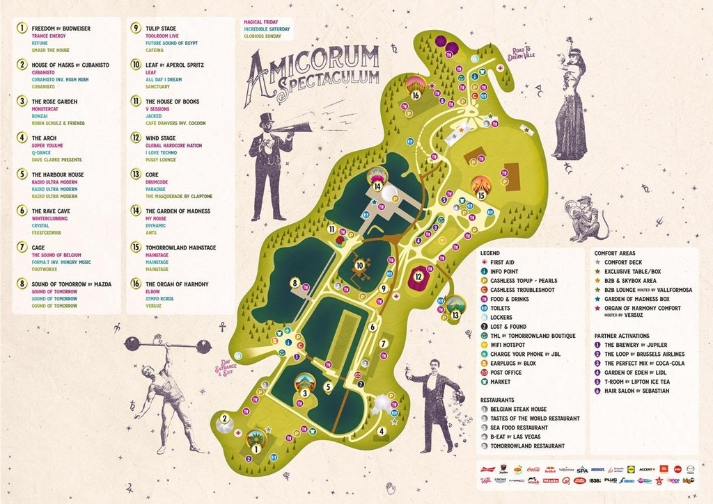 Festivalgelände Tomorrowland, Karte, Übersicht, Stageplan, Tomorrowland Stages, Map, Tomorrowland Guide, Tomorrowland Guide 2018, Tomorrowland 2018, Tomorrowland Infos, Tomorrowland Tipps, Tomorrowland Tricks, Dreamville Tipps, Dreamville Tricks, Dreamville Info, Dreamville Guide,