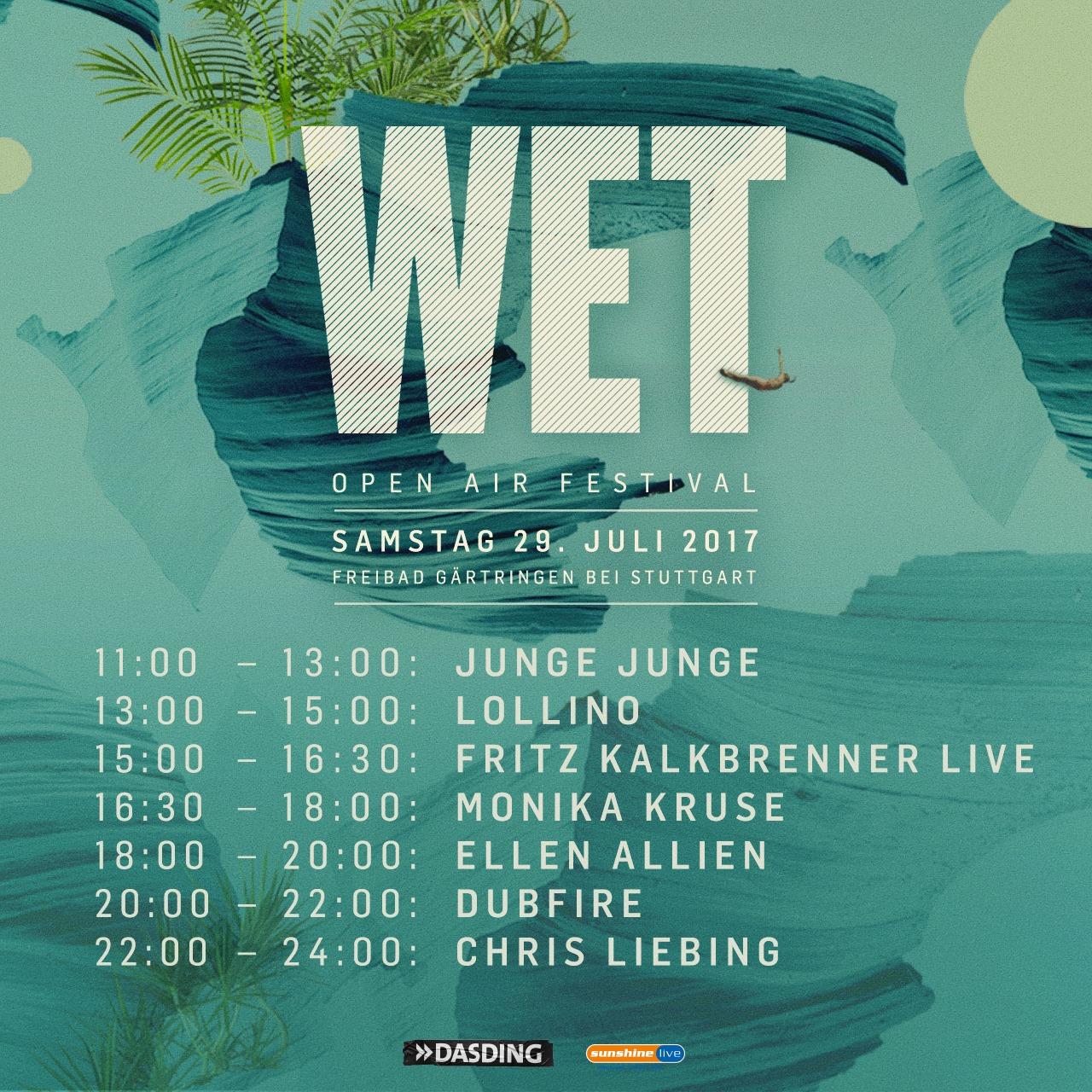 Wet-Openair